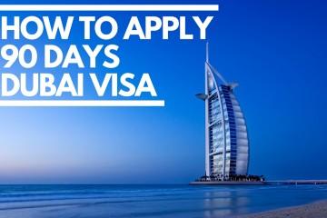 90 Days Dubai Visa