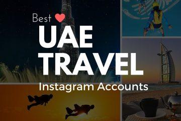 Best UAE Travel Instagram Accounts