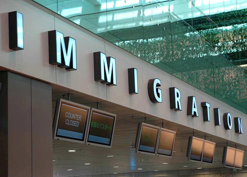 Dubai Airport Immigration