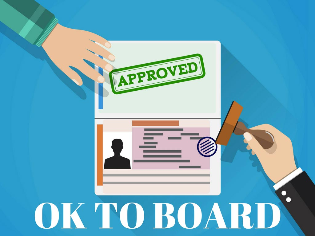 How to check Ok to board StatusHow to check Ok to board Status