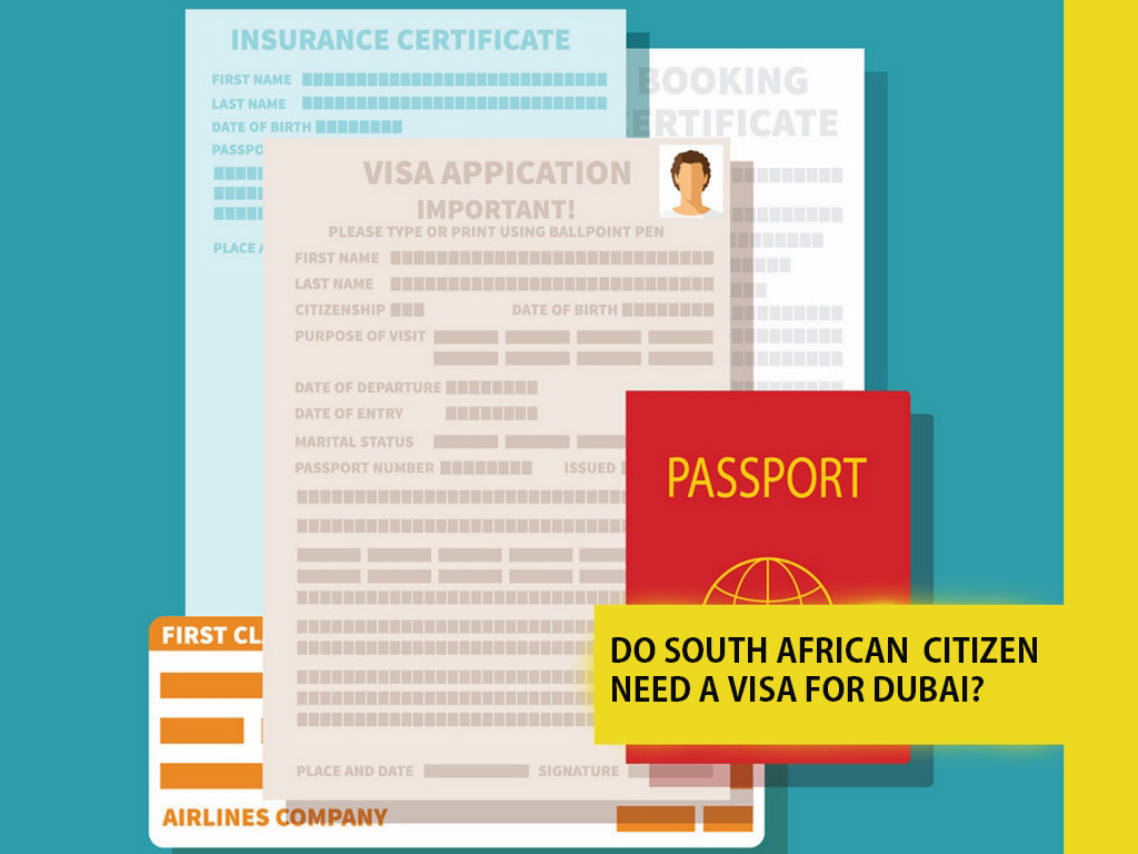Do South african citizen need a visa for Dubai
