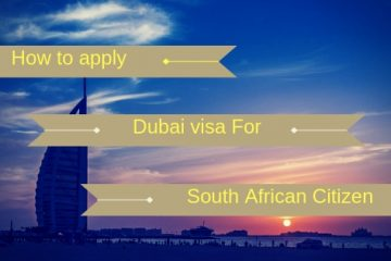 How to Apply for Dubai Visa for South African Citizen images