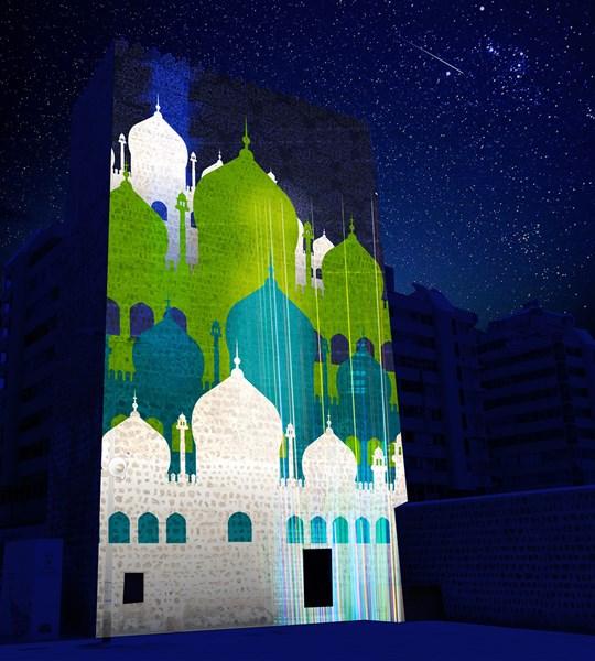 Heart of Sharjah Light Festival 2019