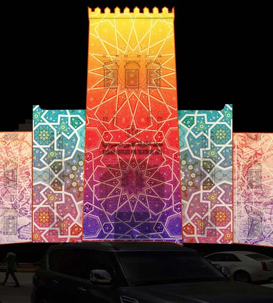 Heart of Sharjah light festival