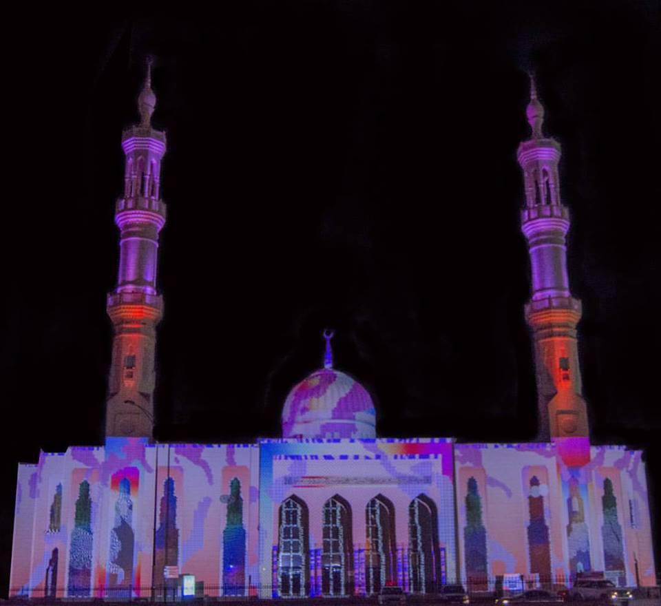 Masjid Ammar Bin Yasser Light Festival 2019