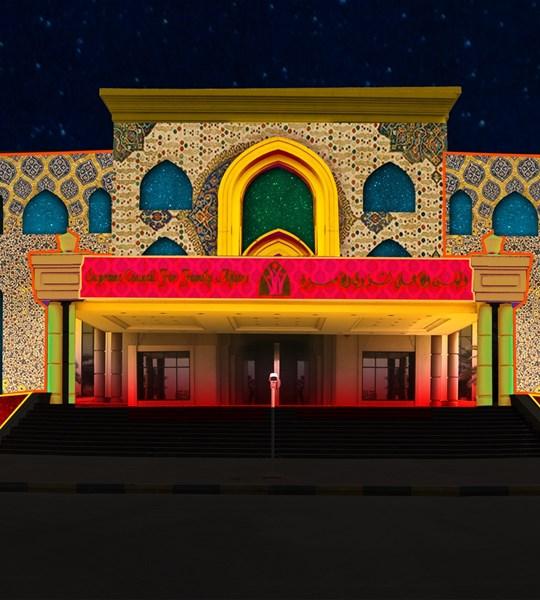 Supreme Court for Family Affairs Sharjah light festival 2019