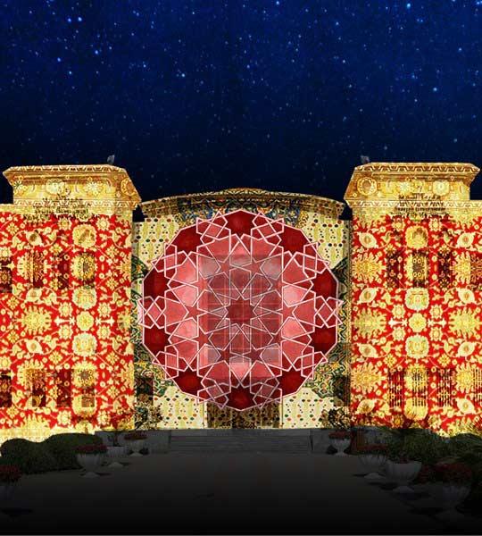 kalba city municipality council sharjah light festival
