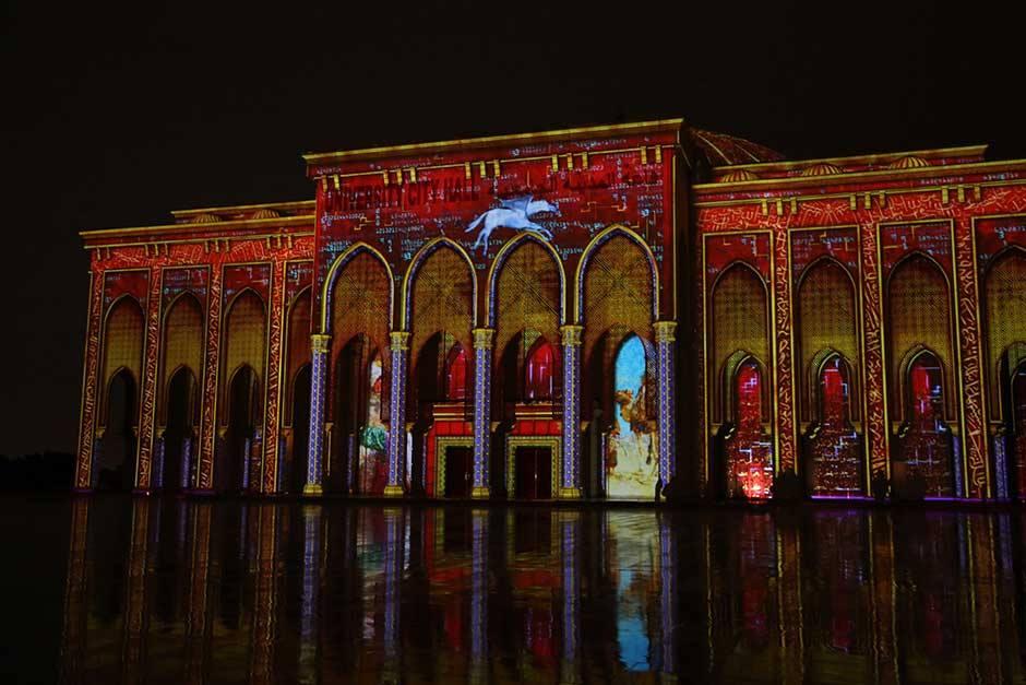 university city hall sharjah festival 2019