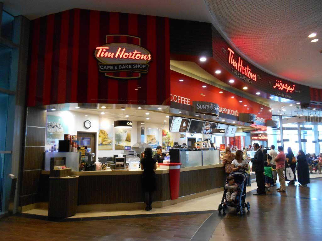 Dining at Dubai Mall
