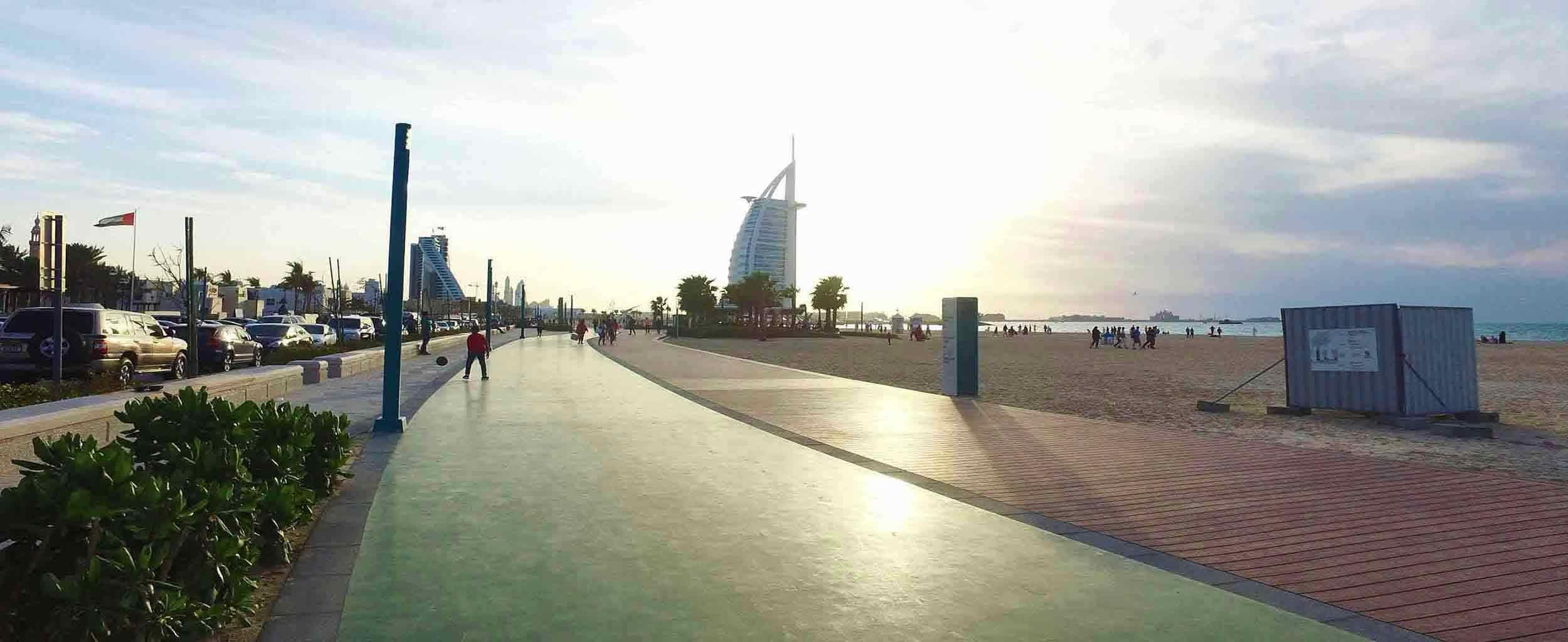 Jumeirah Beach Corniche