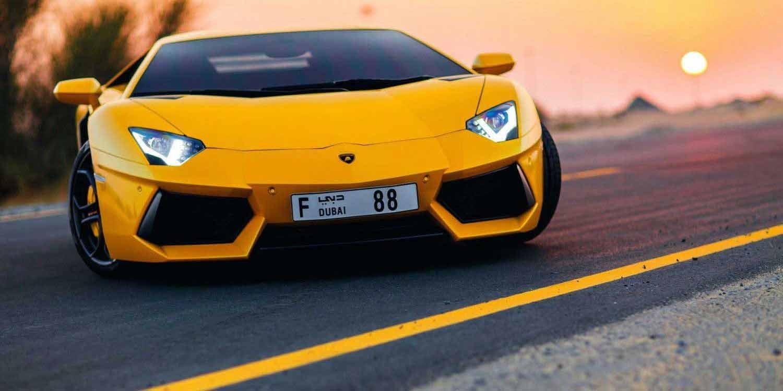 Lamborghini Aventador Dubai