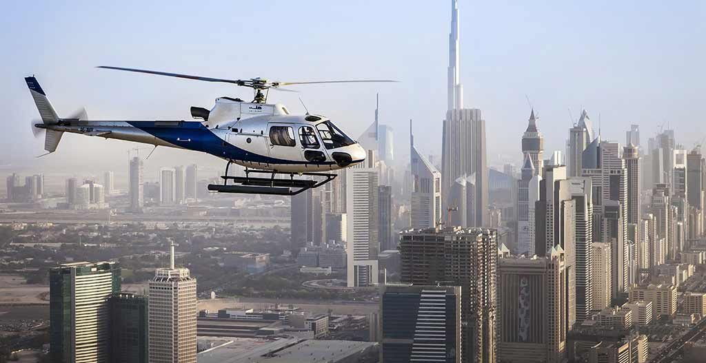 helicopter ride dubai