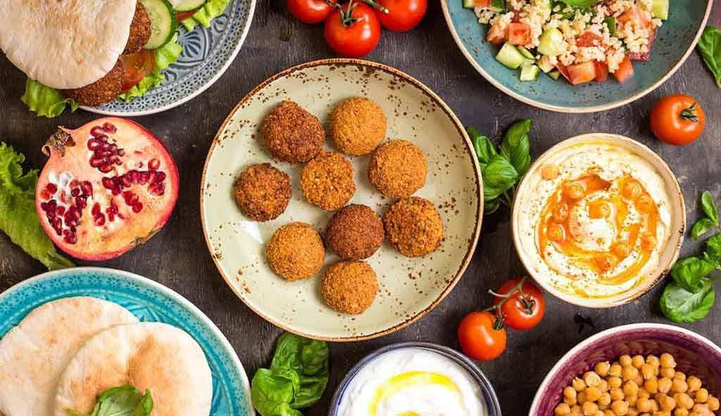Dish in Dubai