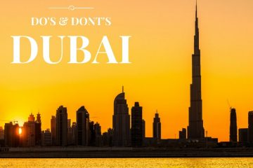 Do's and Dont's in Dubai