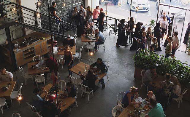 Tom & Serg hidden cafe in Dubai