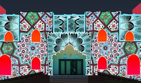kalba human resource light festival 2019